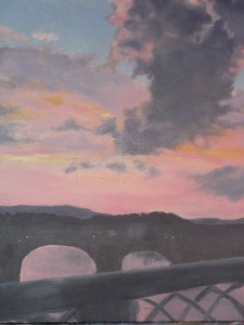 Sunset_from_Walnut_Street_Bridge_©by_CarolHobbs